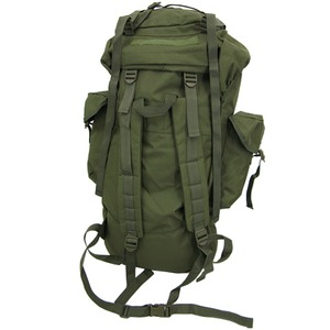 ジャーマンタイプ防水布使用75リッター リュックサックフレックターン カモ