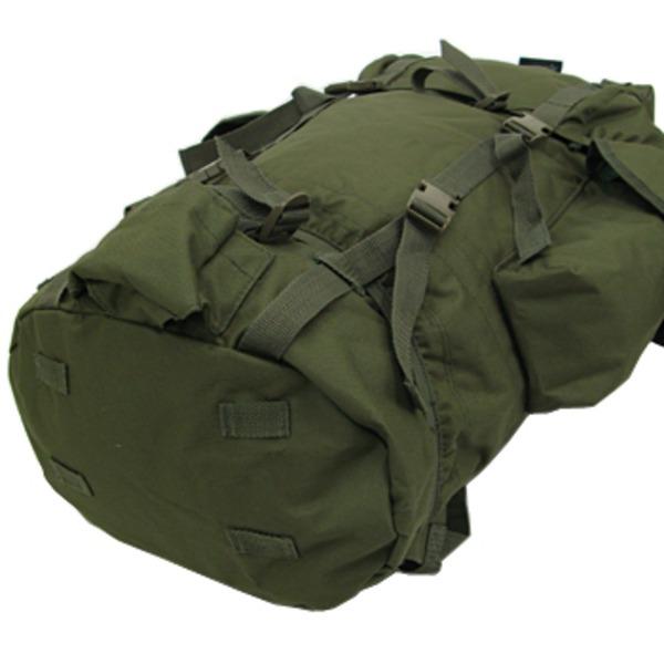 ジャーマンタイプ防水布使用75リッター リュックサックオリーブ