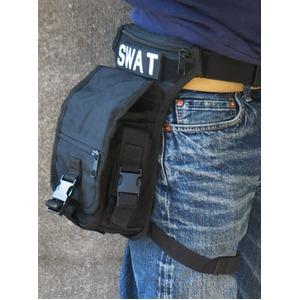 U.S.・SWAT・レッグポーチ ・ショルダー・2WAYバック レプリカウッドランド