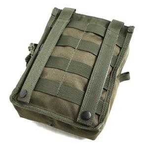 モール対応防水布使用オペレーション ウェストポーチ オリーブ