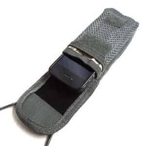 モール対応多機能iPhoneケース ブラック f04