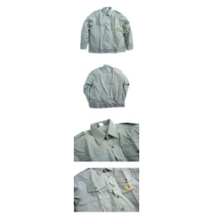 ビンテージスロバキア軍放出 ワークシャツデット...の紹介画像3