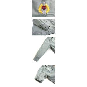 ビンテージスロバキア軍放出 ワークシャツデット...の紹介画像4