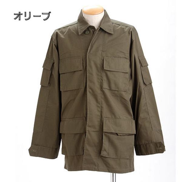 アメリカ軍 BDUジャケット/迷彩ジャケット  Lサイズ  JB001YN オリーブ  レプリカ