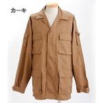 アメリカ軍 BDUジャケット/迷彩ジャケット 【 Lサイズ 】 JB001YN カーキ 【 レプリカ 】