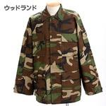 アメリカ軍 BDUジャケット/迷彩ジャケット 【 Lサイズ 】 JB001YN ウッドランド 【 レプリカ 】
