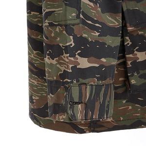 アメリカ軍 BDUジャケット/迷彩ジャケット 【 Sサイズ 】 JB001YN リップストップ デザート タイガー 【 レプリカ 】