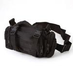 アメリカ陸軍 3WAYウエストバッグ ナイロン(1000デニール) 防水生地使用 B S056YN ブラック 【 レプリカ 】 の画像