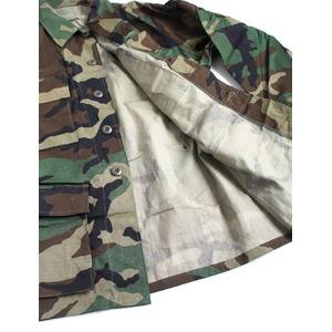 アメリカ軍 放出 BDU ジャケット ウッドランドリップストップ未使用デットストック