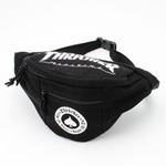 「THRASHER」綿キャンパス帆布製ウェスト&ボディー2WAYバッグブラック×アース