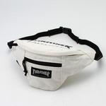 「THRASHER」綿キャンパス帆布製ウェスト&ボディー2WAYバッグアイボリー×マグロゴ