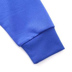 UVカット・吸汗速乾・ドライジャージパイルフルジップラグランスリーブジャケット ホワイト L h02