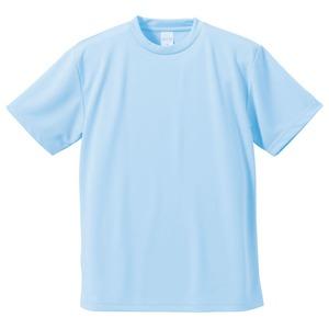 UVカット・吸汗速乾・5枚セット・4.1オンスさらさらドライTシャツライトブルー150cm