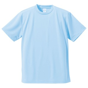 UVカット・吸汗速乾・5枚セット・4.1オンスさらさらドライTシャツライトブルーL