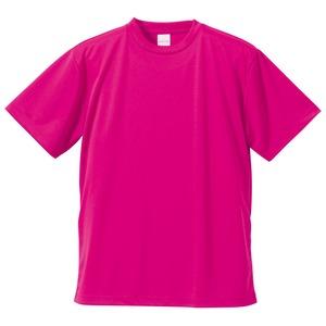 UVカット・吸汗速乾・5枚セット・4.1オンスさらさらドライ Tシャツ トロピカルピンク S