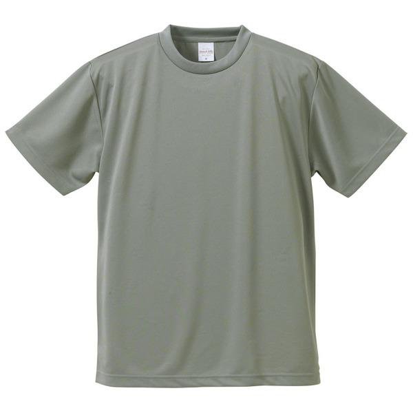 UVカット・吸汗速乾・5枚セット・4.1オンスさらさらドライ Tシャツ グレー Sf00