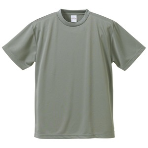 UVカット・吸汗速乾・5枚セット・4.1オンスさらさらドライTシャツグレーL