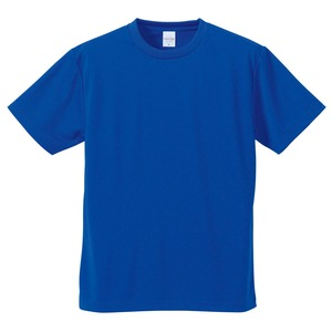 UVカット・吸汗速乾・5枚セット・4.1オンスさらさらドライ Tシャツ コバルトブルー S