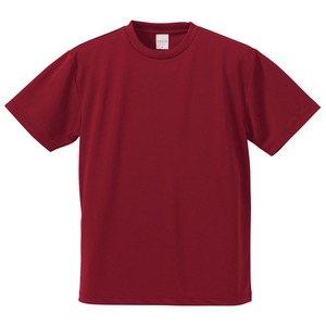 UVカット・吸汗速乾・5枚セット・4.1オンスさらさらドライ Tシャツ バーガンディー 160cm