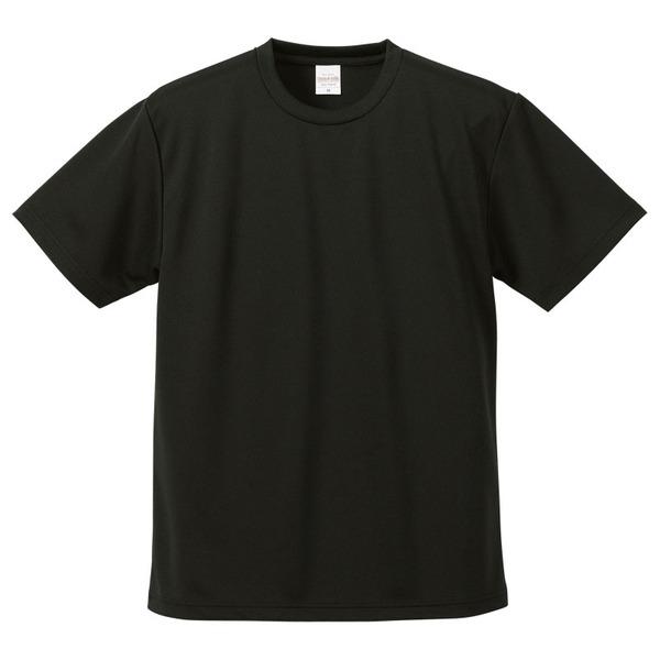 UVカット・吸汗速乾・5枚セット・4.1オンスさらさらドライ Tシャツ ブラック Mf00