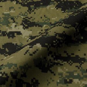 自衛隊海外派遣使用・立体裁断・吸汗速乾さらさらドライ 迷彩 Tシャツ ピクセルウッドランド L h02