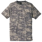 自衛隊海外派遣使用・立体裁断・吸汗速乾さらさらドライ 迷彩 Tシャツ ACU L