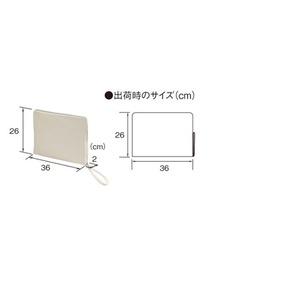 14.3オンス帆布製綿キャンパスコットンクラッチバック・OD/ブラック