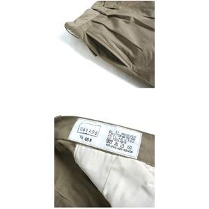 イタリア軍放出 A. M.I.ショートパンツ カーキ未使用デットストック46(80cm)