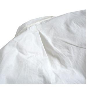スウェーデン軍放出プルオーバースリーピングシャツホワイト未使用デットストック36(レディースフリー相当