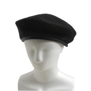 アメリカ軍 放ベレー帽未使用デットストック ブラック60cm