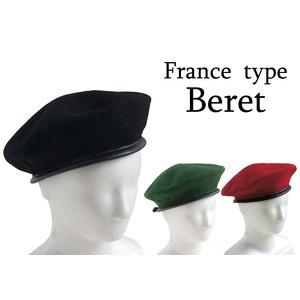 フランス軍 ベレー帽レプリカ ブラック60cm