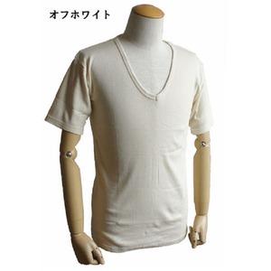 フランス軍VネックTシャツレプリカ ホワイト(生成り) 7(M)