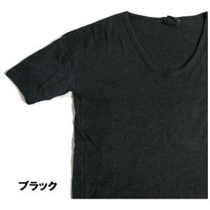 東ドイツ軍UネックTシャツレプリカ ブラック 5(L)
