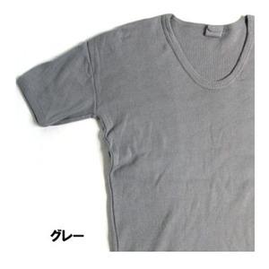 東ドイツ軍UネックTシャツレプリカ グレー 5(L)