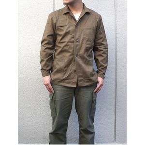 チェコ軍 放 ワークジャケット ブラウン未使用デットストック XL