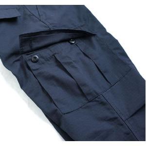 アメリカ軍 BDU カーゴパンツ /迷彩服パンツ 【 XSサイズ 】 リップストップ YN521007 ネイビー 【 レプリカ 】