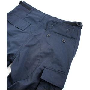 アメリカ軍 BDU カーゴパンツ /迷彩服パンツ 【 Lサイズ 】 リップストップ YN521007 ネイビー 【 レプリカ 】