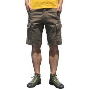 山岳猟兵用登山パンツ ドイツ連邦国軍 モルスキンショートパンツ オリーブGr8(88cm) 【 レプリカ 】