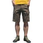 山岳猟兵用登山パンツ ドイツ連邦国軍 モルスキンショートパンツ オリーブGr1(76cm) 【 レプリカ 】