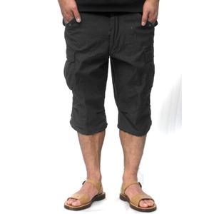 USタイプ「 M-65」フィールド七分丈パンツ ブラック メンズ XLサイズ 【 レプリカ 】