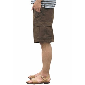 USタイプ「 M-65」フィールドショート丈パンツ ブラウン メンズ XLサイズ 【 レプリカ 】