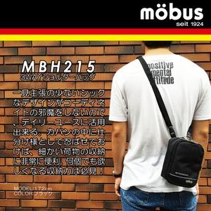 ドイツブランド Mobus(モーブス) ショルダー・カラビナ・ウェスト・3WAY多機能バッグ ブラック h02