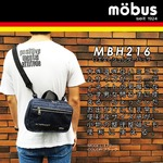 ドイツブランド Mobus(モーブス) ウェスト・手提げ・ショルダー・多機能3WAYバッグ グレー