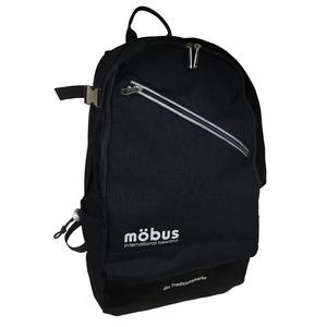 ドイツブランド Mobus(モーブス) PCポケット完備B4サイズビジネスライクバッグバッグ ブラック