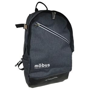 ドイツブランド Mobus(モーブス) PCポケット完備B4サイズビジネスライクバッグバッグ グレー h01