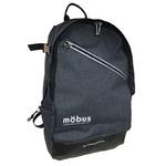 ドイツブランド Mobus(モーブス) PCポケット完備B4サイズビジネスライクバッグバッグ グレー