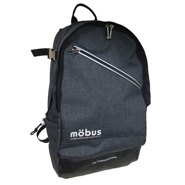 ドイツブランド Mobus(モーブス) PCポケット完備B4サイズビジネスライクバッグバッグ グレーf00