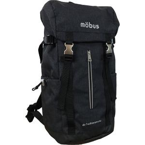 ドイツブランド Mobus(モーブス) 雨風に強い カブセリュック ブラック