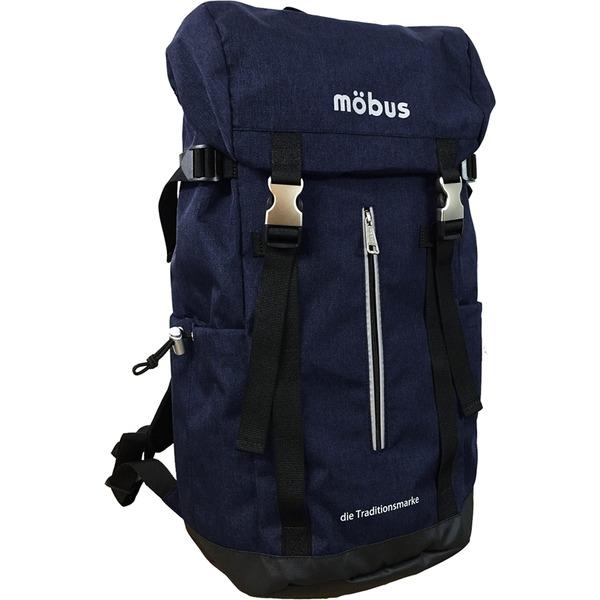ドイツブランド Mobus(モーブス) 雨風に強い カブセリュック ネイビーf00