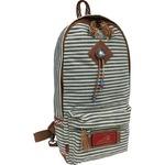 ワンショルダーバッグ/鞄 インディアン・モトサイクル社製 ヒッコリー柄